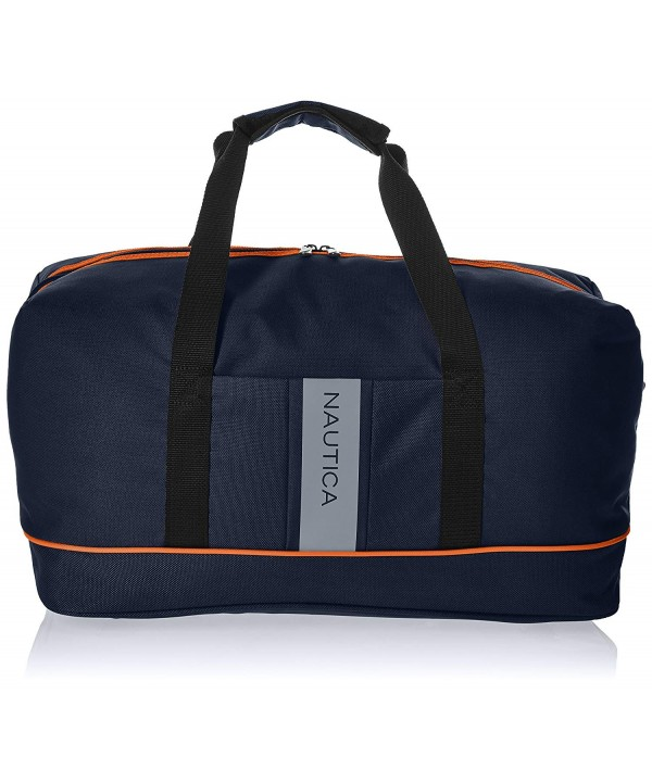 Nautica Travel Carry Duffle Orange