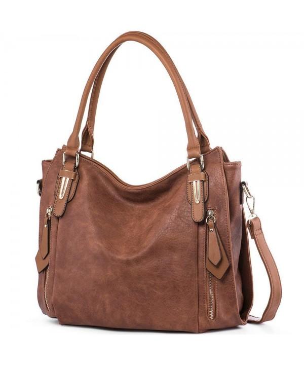 iYaffa Handbags Shoulder Crossbody Leather