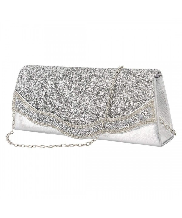 Gabrine Evening Shoulder Handbag Rhinestone