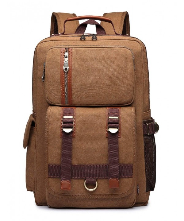 BEFAiR Student Backpack Vintage Rucksack