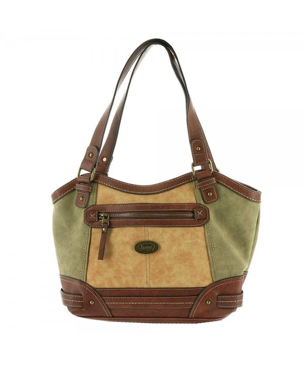 Womens Cronton Tote Olive Saddle