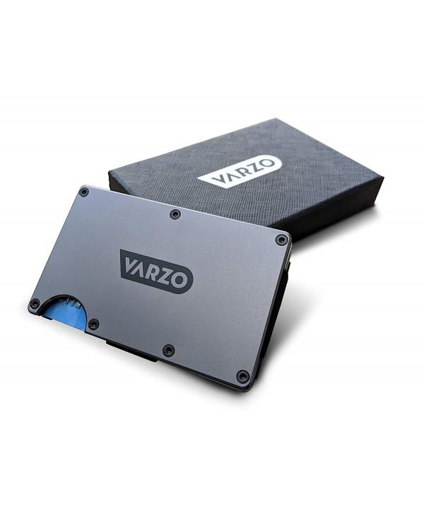 VARZO Minimalist Aluminum Wallet Blocking