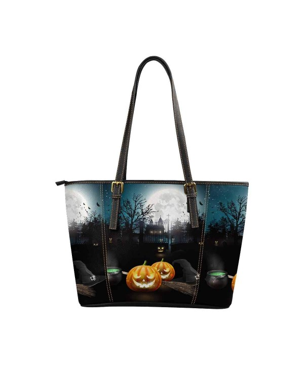 InterestPrint Capacity Shoulder Halloween Pumpkins