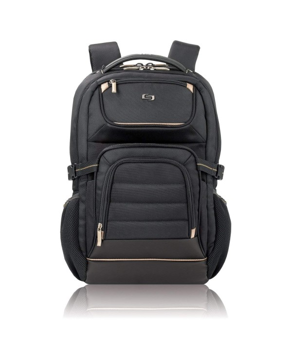 Solo 17 3 Laptop Backpack Black