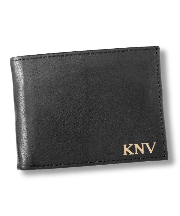 Personalized Borello Convertible Leather Wallet