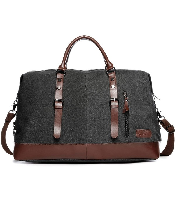 Leather Weekender Overnight Holdall Fresion