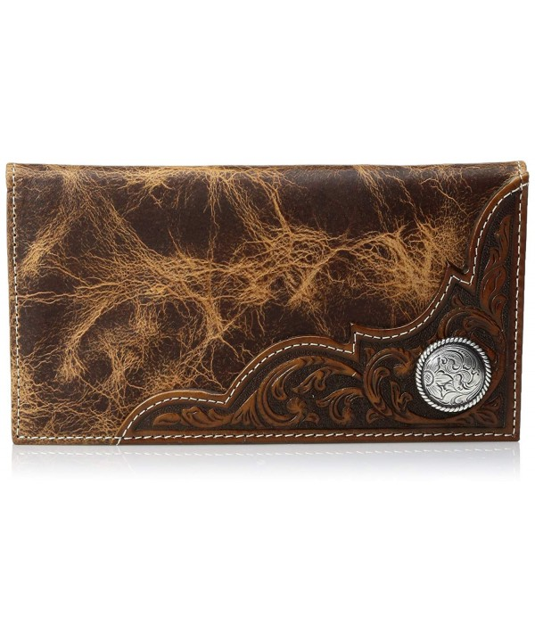 Ariat Distressed Corner Circle Wallet