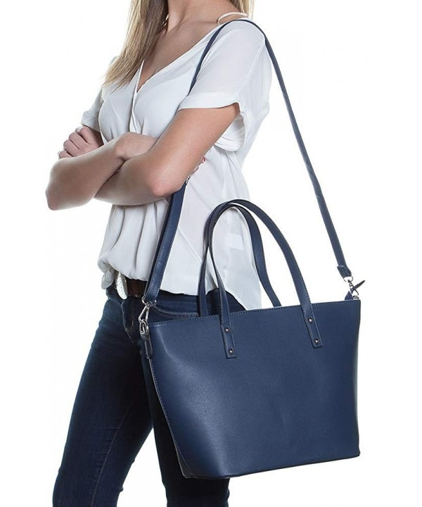 Faux Leather Tote Bag Women
