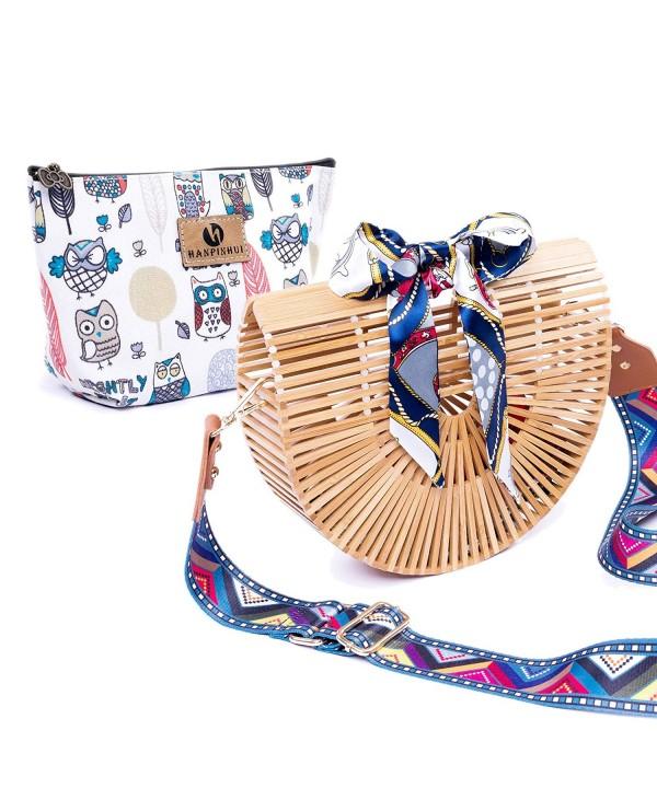 Bamboo Handmade Handbag Insert Clutch