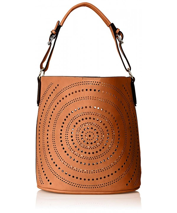 MG Collection Calista Perforated Shoulder
