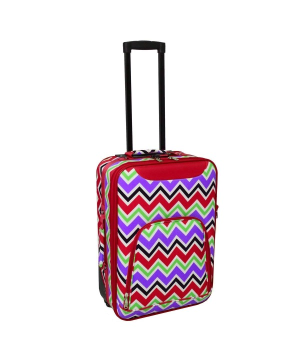 20 Carry On Suitcase Color Red