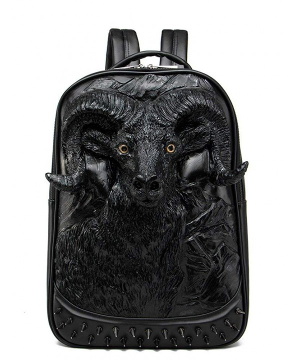 Aibag Backpack School Laptop Wildebeest