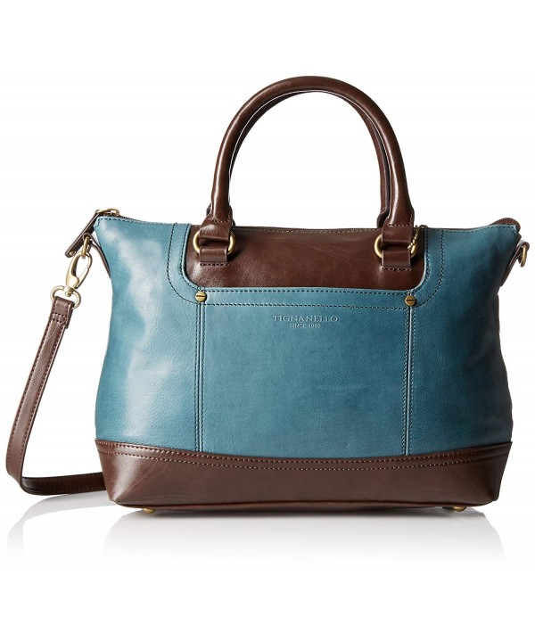 Tignanello Smooth Operator Satchel Juniper