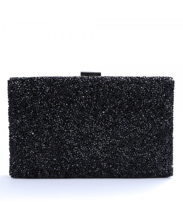 Nodykka Rhinestone Embellished Clutches Handbags