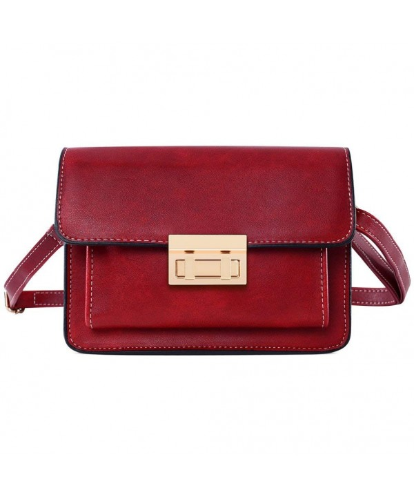 Small Crossbody Leather Shoulder Satchel