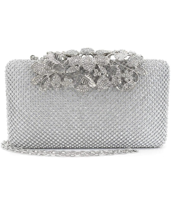 Womens Evening Closure Rhinestone Crystal
