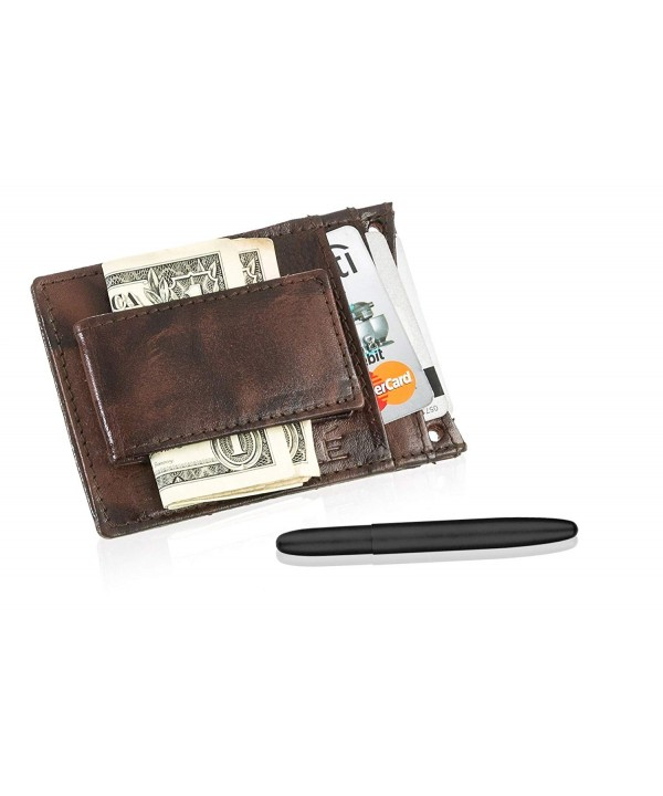 Fisher Suvelle Leather Magnetic Wallet