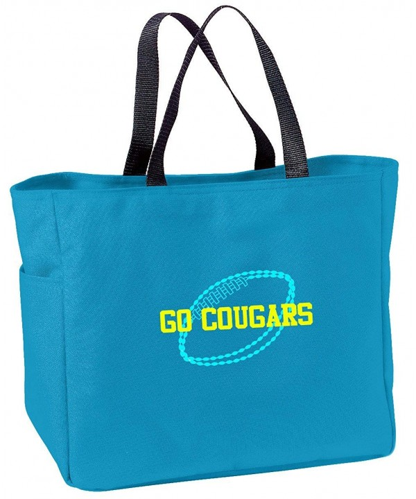 Personalized Embroidered Football Essential Turquoise