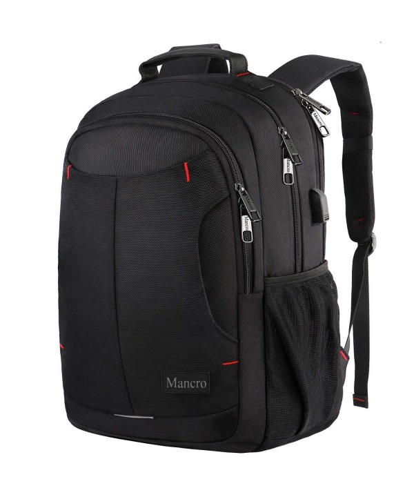 Backpack Charging Mancro Resistant Polyester