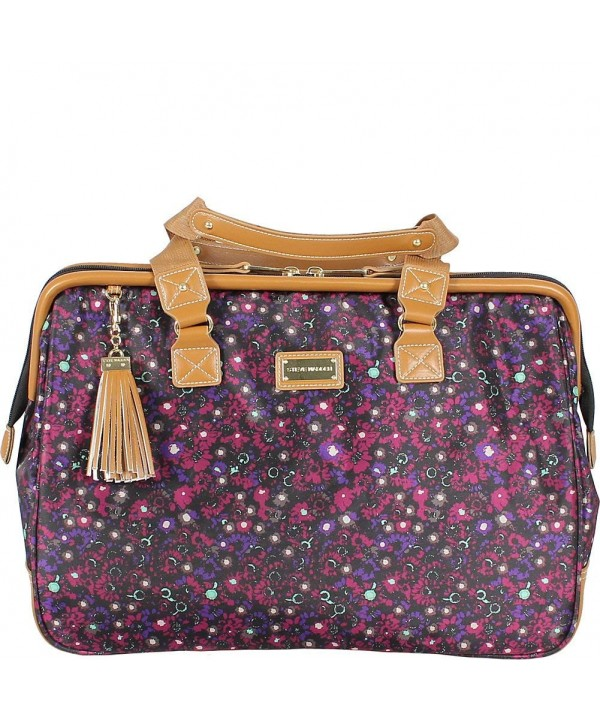 Steve Madden Global Satchel Purple