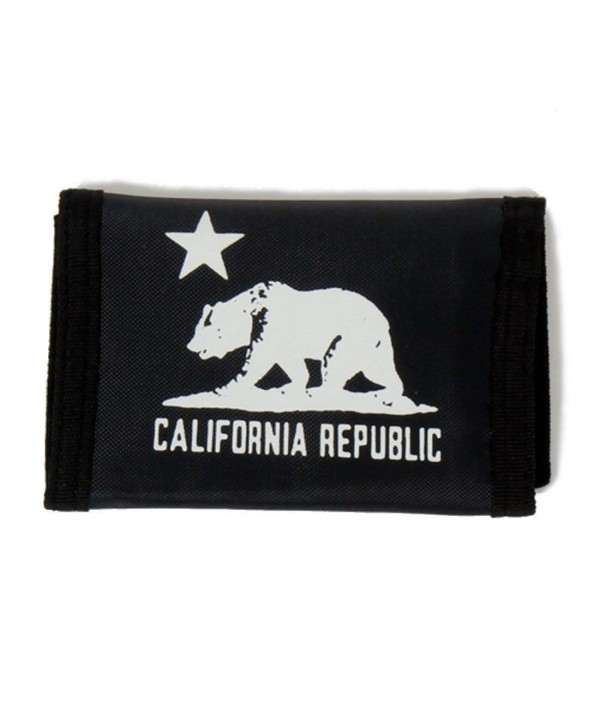 California Republic Trifold Velcro Wallet