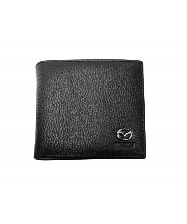 Mazda Leather Wallet Genuine Bifold