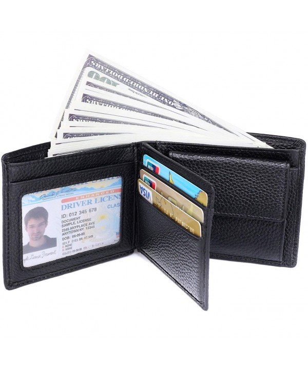 RFID Blocking Wallet Men Genuine