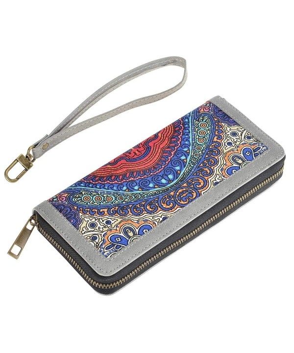 HAWEE Clutch Leather Wristlets Printing