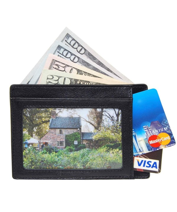 Credit Wallet Pocket Travel Window