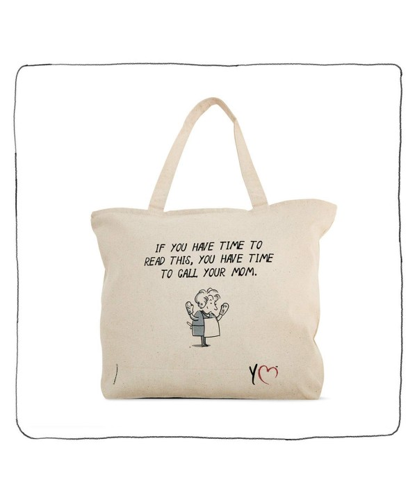 YM Tote Bag Zippered Character