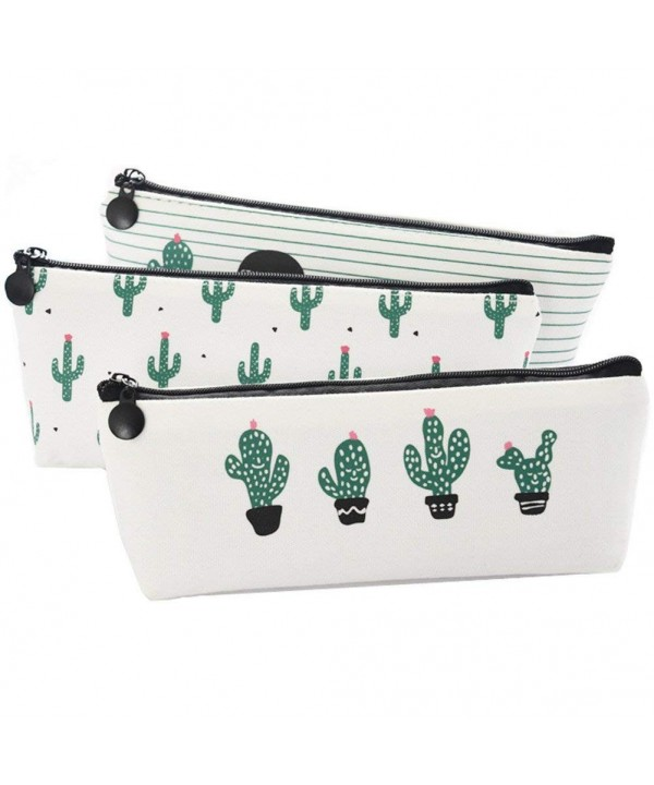 Canvas Cactus Pencil Stationery Cosmetic