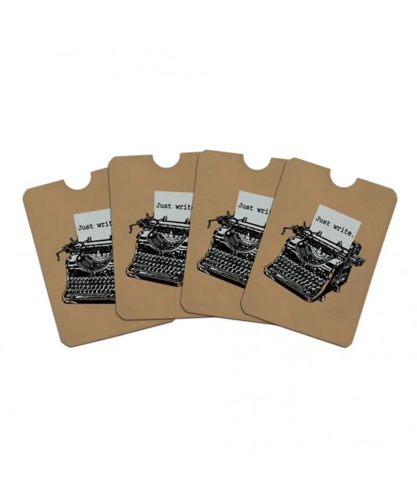 Antique Typewriter Blocker Protector Sleeves