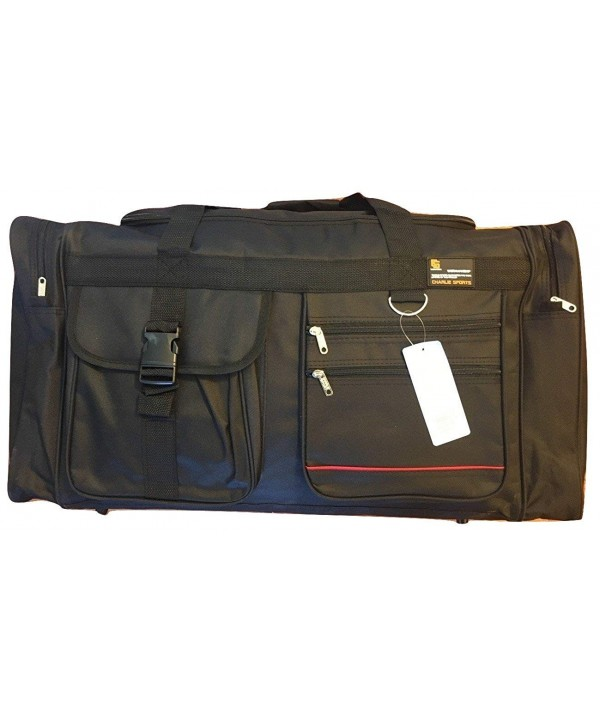 BLACK Capacity Duffle Luggage Suitcase