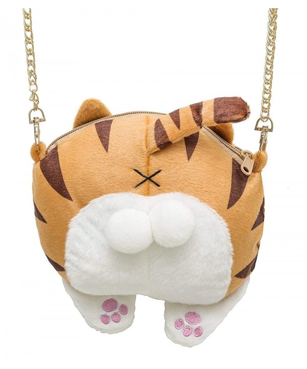 Cute Butt Plush Shoulder Purse