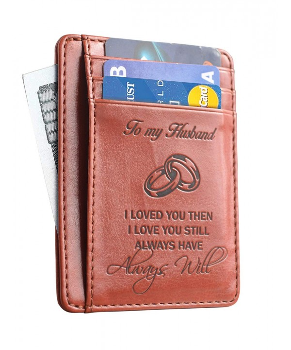 Memory Husband Anniversary Wallet Holder