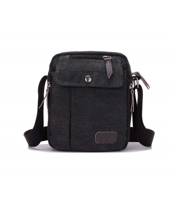 Vintage Messenger Multi pocket Shoulder Crossbody