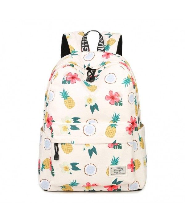 YAMAMA vegetable waterproof schoolbag Pineapple