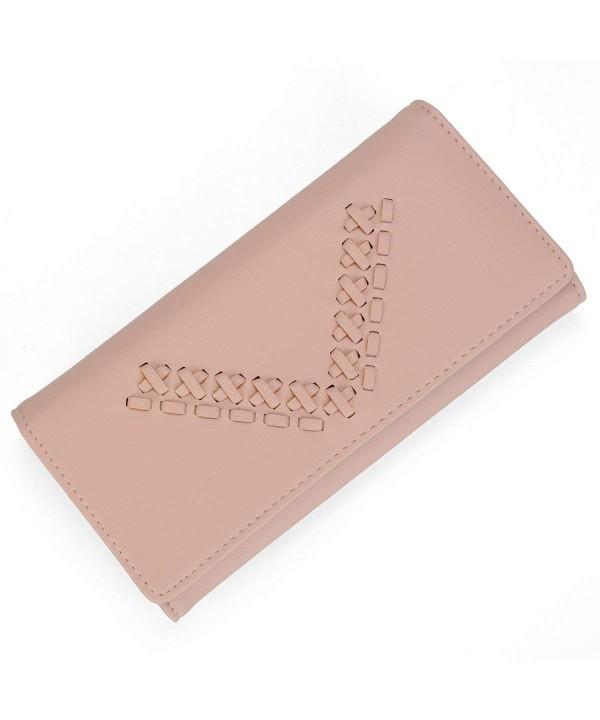 Holder Wallet Leather Capacity Elegant