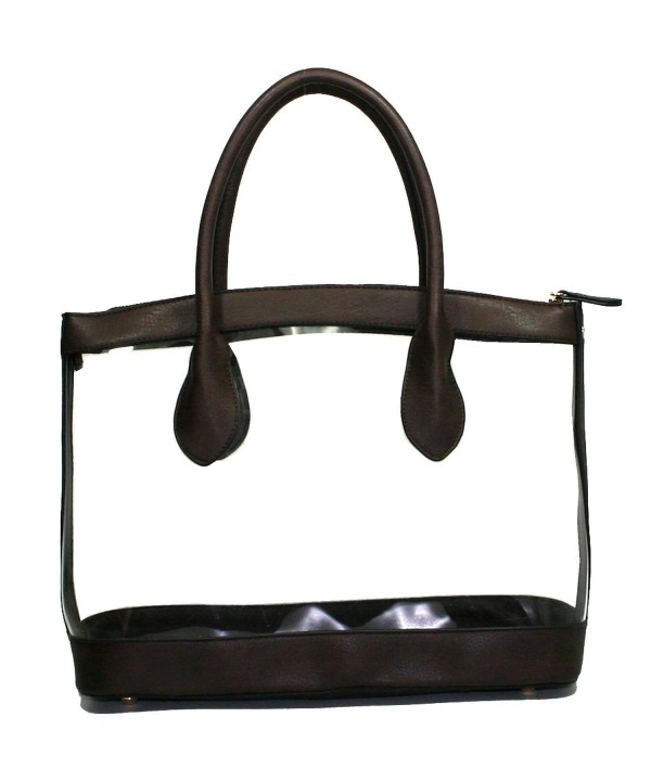 Clear Through Transparent Purse Handbag