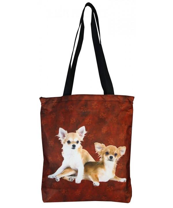 PealRa Chihuahua Spitz Tote Bag