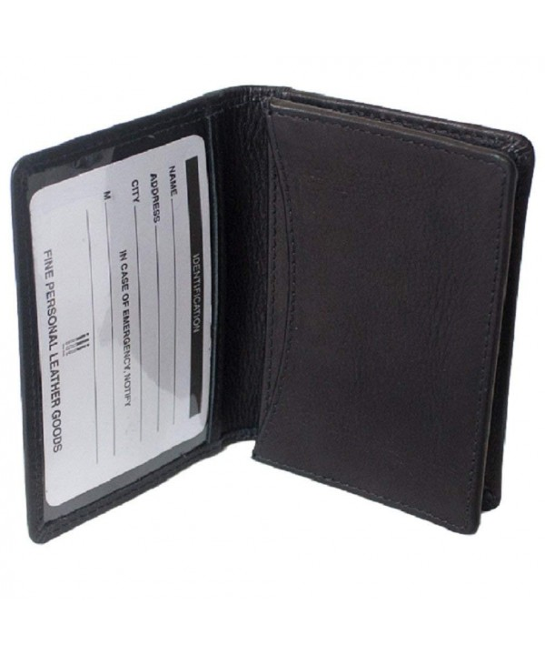 ILI Genuine Leather Business Holder
