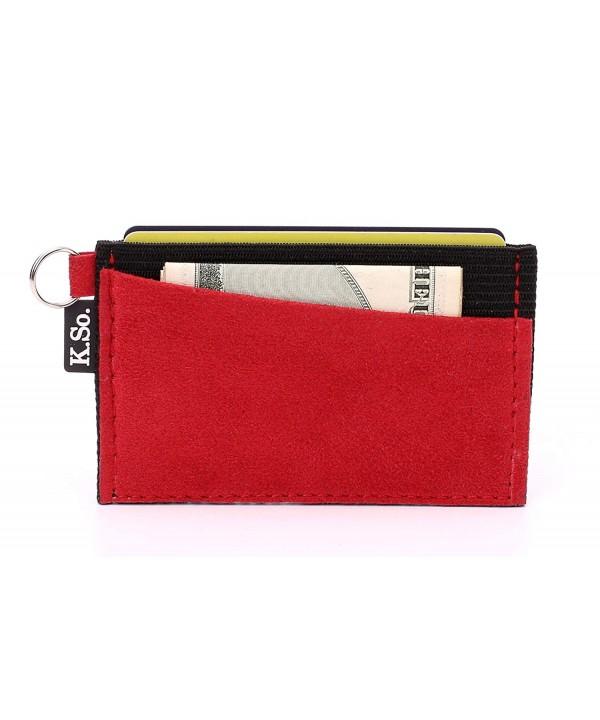 Slim Minimalist Wallet Card Holder