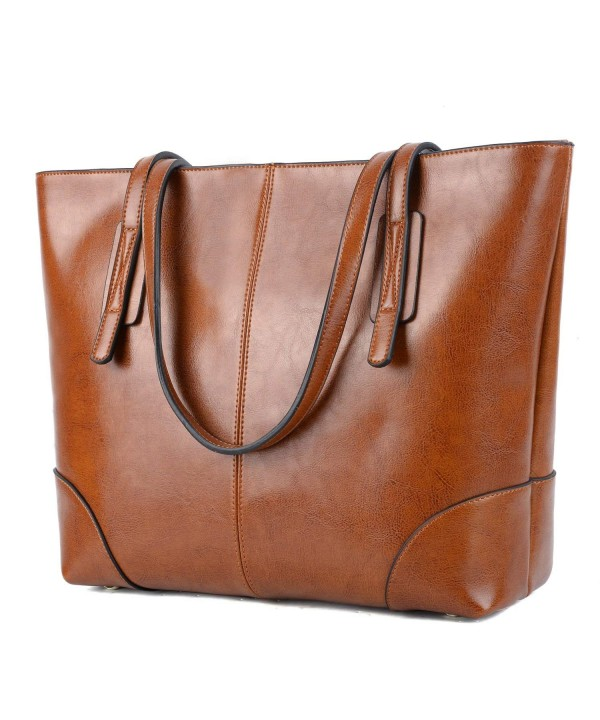 YALUXE Stylish Genuine Leather Shoulder