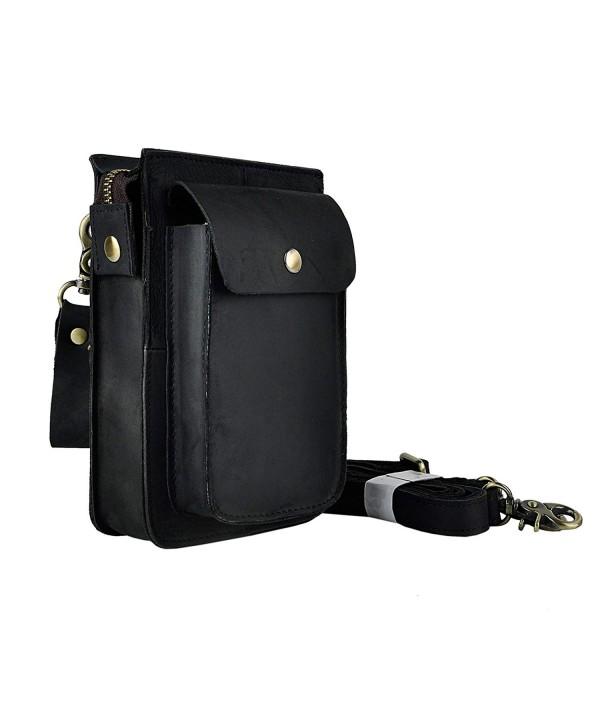 Leaokuu Genuine Leather Messenger Shoulder