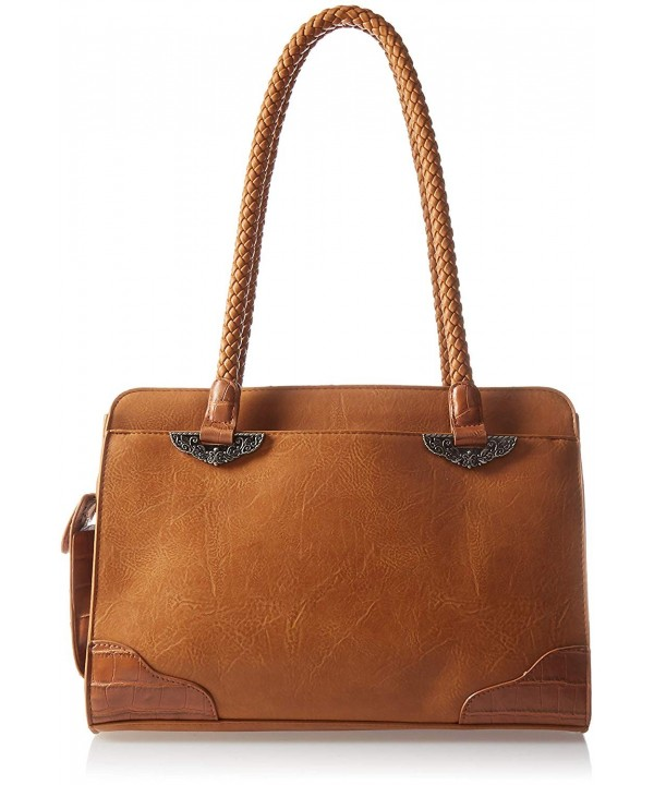 Bueno California Mixed Media Satchel