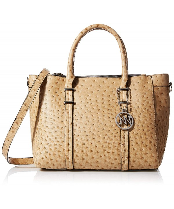 Emilie Nora Double Zipper Satchel