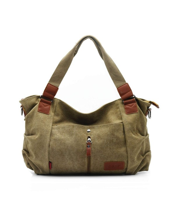 ZENTEII Women Canvas Shoulder Handbag