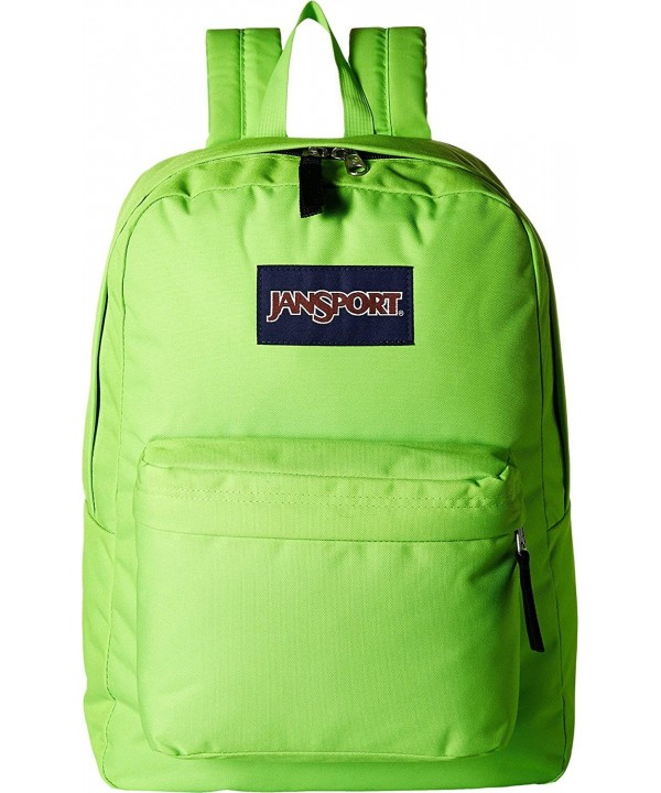 JanSport Unisex SuperBreak Green Size