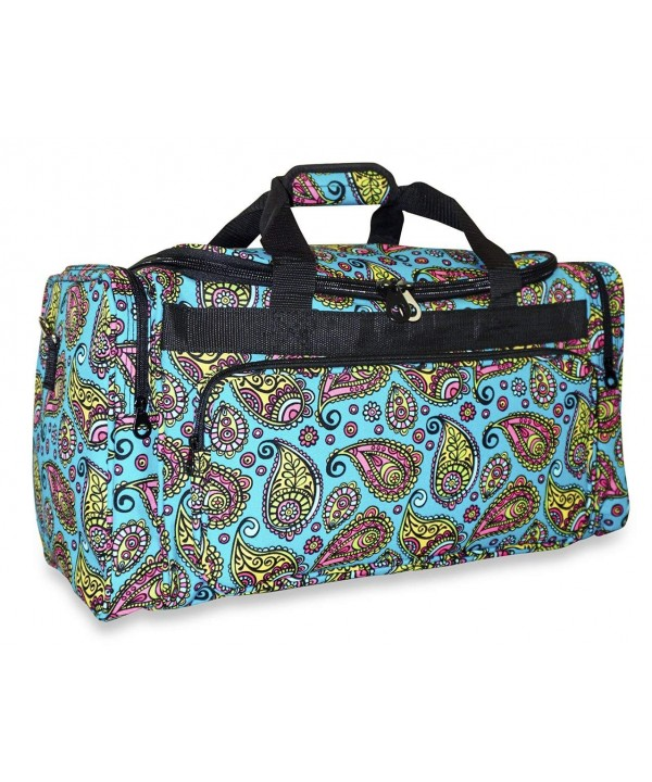 Ever Moda Paisley Duffle Women