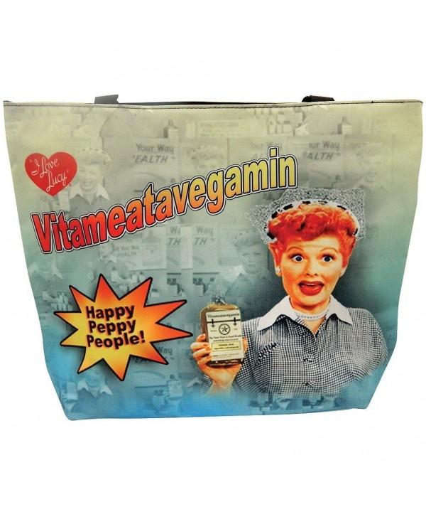 Love Lucy Large Tote Vitameatavegamin
